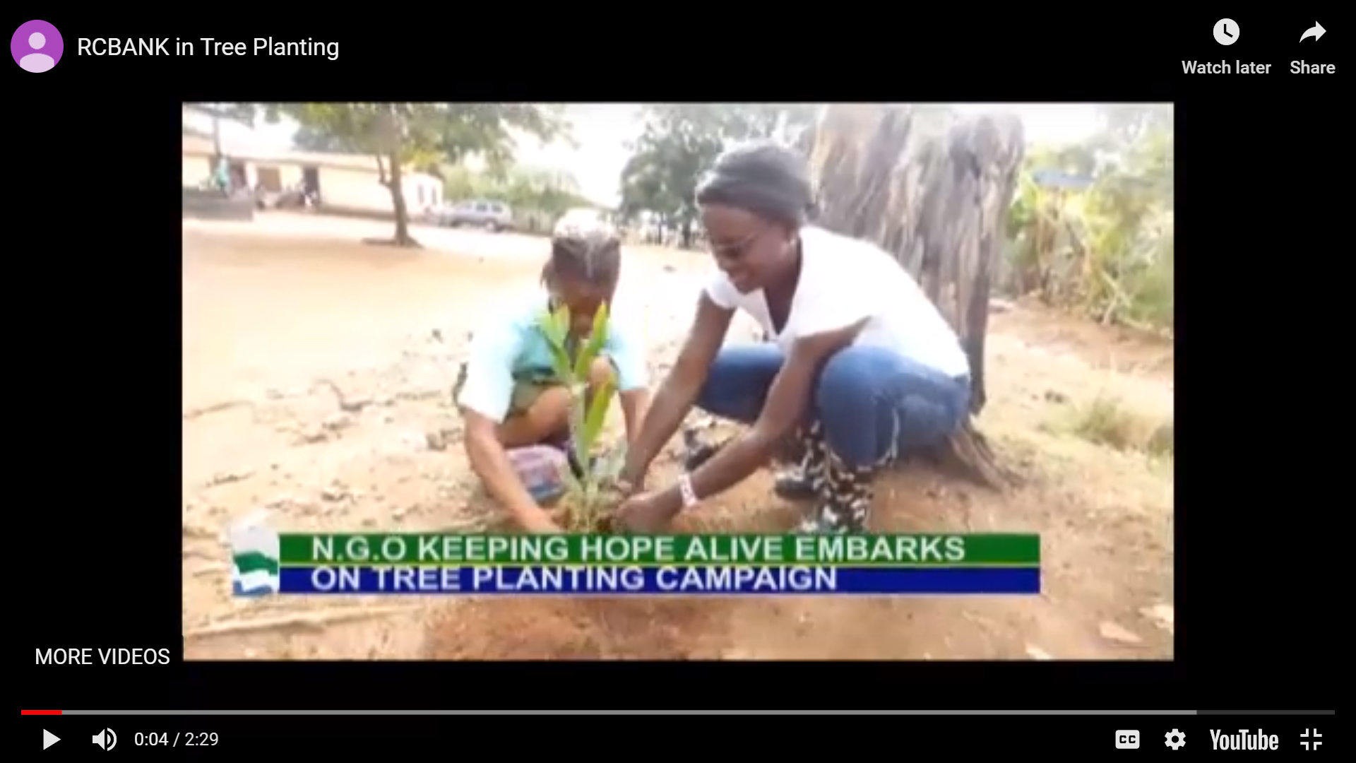 RCBank in Tree Planting